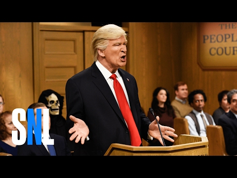 Thumbnail: Trump People's Court - SNL