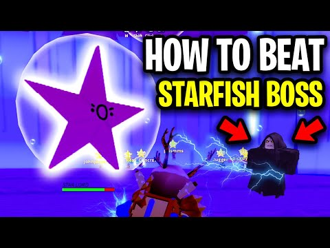 [How To] BEAT THE STARFISH BOSS EASY! (Star Lord Boss) | Cyber Truck | Roblox Mad City New Update