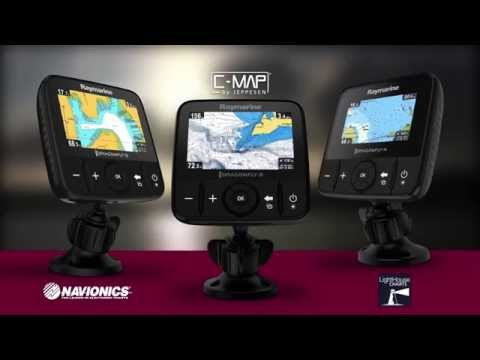 эхолот raymarine dragonfly-4 dv видео
