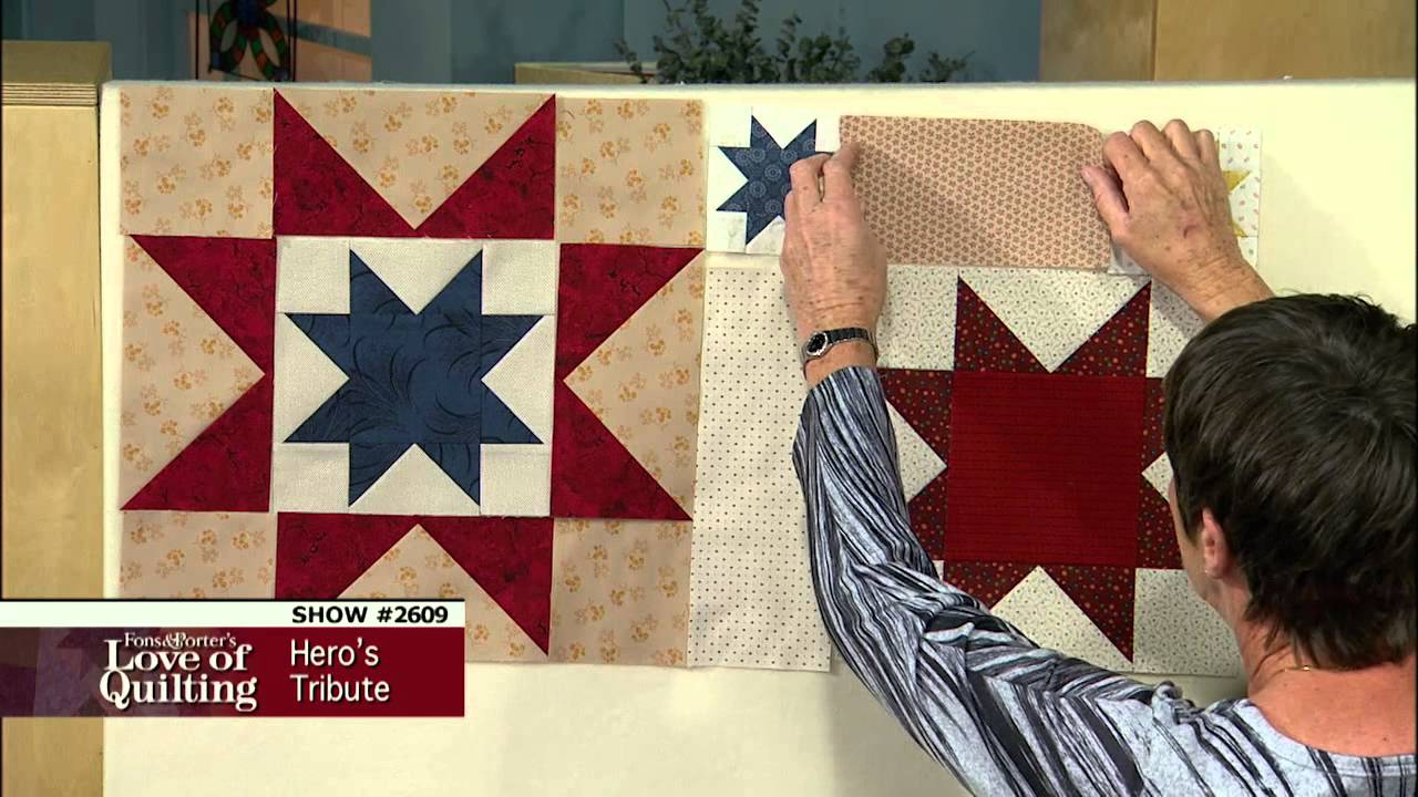 Love Of Quilting Preview Patriotic Quilt Pattern Using Flying Geese