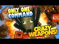 Minecraft | SQUID NUKES! CRAZY WEAPONS! | No Mods | Only One Command Block (Minecraft Redstone)