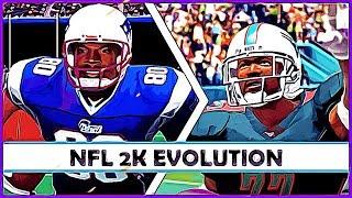 NFL 2K games evolution
