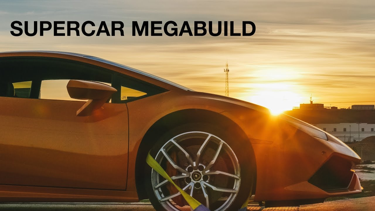 Supercar Megabuild Series Opening Titles Youtube
