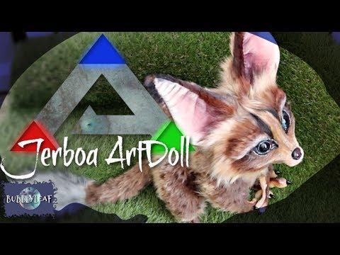 ARK Survival Evolved Jerboa ArtDoll Tutorial
