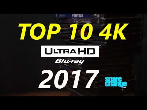 Top 10 4K Blurays