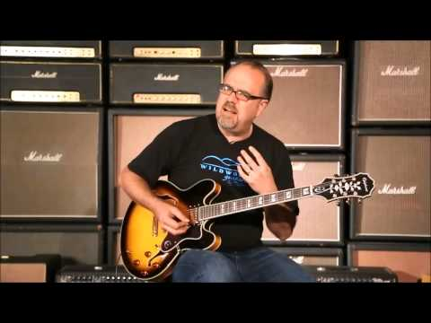 Best acting of the year - Epiphone Sheraton II Overview CUT