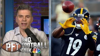 PFT Overtime: JuJu's game developing, Cowboys COO on NFL agents | Pro Football Talk | NBC Sports