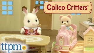 Calico Critters Cozy Cottage Starter Home, Tree House, Choo-Choo Train, and Castle Playground