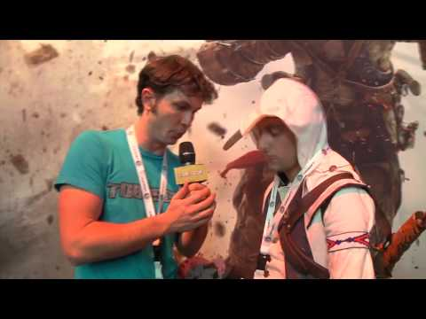 Assassin's Creed 3 - Tobuscus Interview E3 2012 [UK]