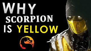 Why Scorpion is YELLOW! - The Truth Revealed - Mortal Kombat