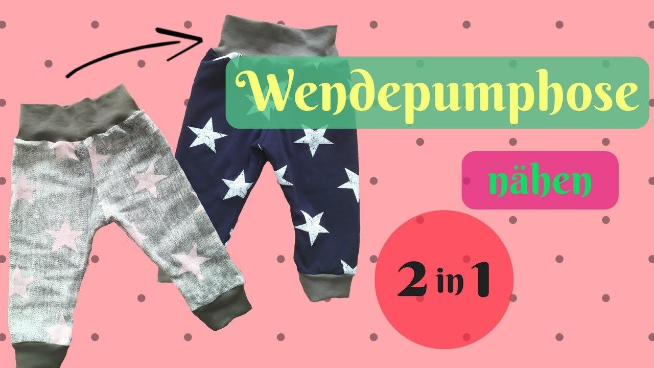 Wendepumphose/Pumphose zum Wenden nähen+kostenloses Schnittmuster ...