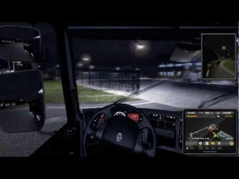 Euro Truck Simulator 2 : Arrived in Germany Hamburg