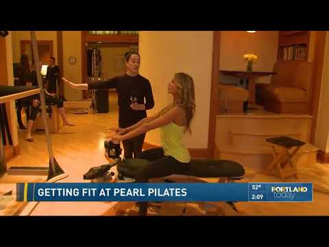 Getting fit at Pearl Pilates