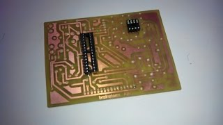 Double Sided PCB Home Made DIY
