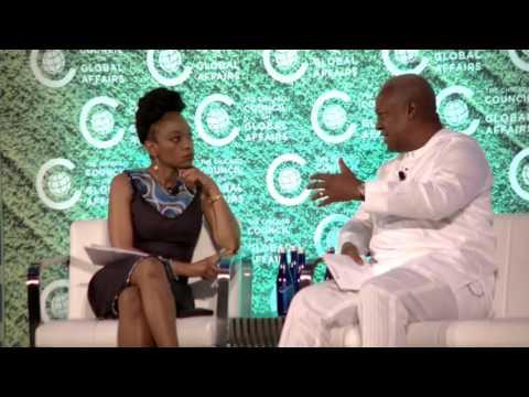 Fireside Chat: Former President of Ghana John Dramani Mahama