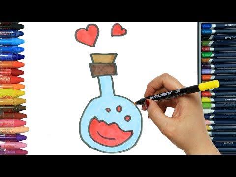 profumo-disegni-da-colorare-e-5-video-di-pittura-|-libri-da-colorare-per-bambini