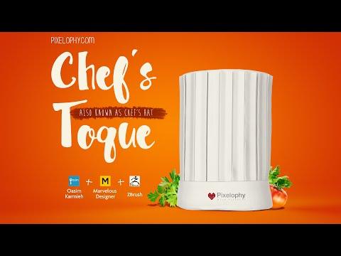 3d Chef Hat a Marvelous Designer Tutorial