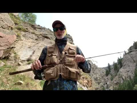 JIG And SPINNERBAIT Fishing For Rocky Mountain Trout Poudre River