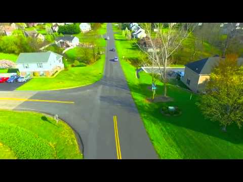 Traffic jam in Fishersville, Va recorded on the DJI Phantom 3 Advanced.