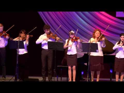 ВИДЕО Отчётный концерт ДМШ№1 г  Невинномысск 14 04 2015г