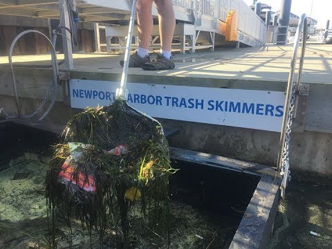 Everything You Ever Wanted to Know About Marina Trash Skimmers!