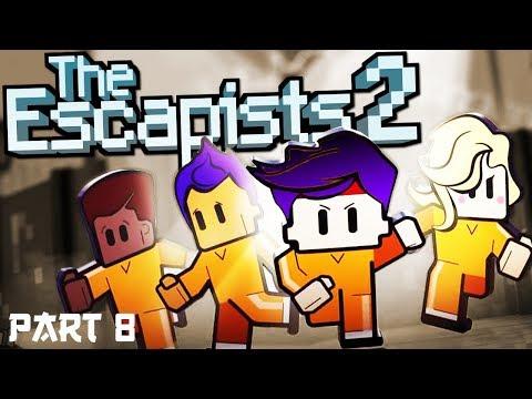 The Escapists 2 | H.M.P Offshore Prison! | #8