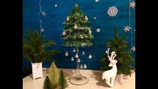 DIY-Ёлочка на высокой ножке. Переделка (часть2)  FIX PRIice! Новогодний декор!DIY-Christmas tree