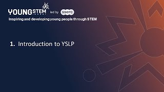 Introduction to the Young STEM Leader Programme