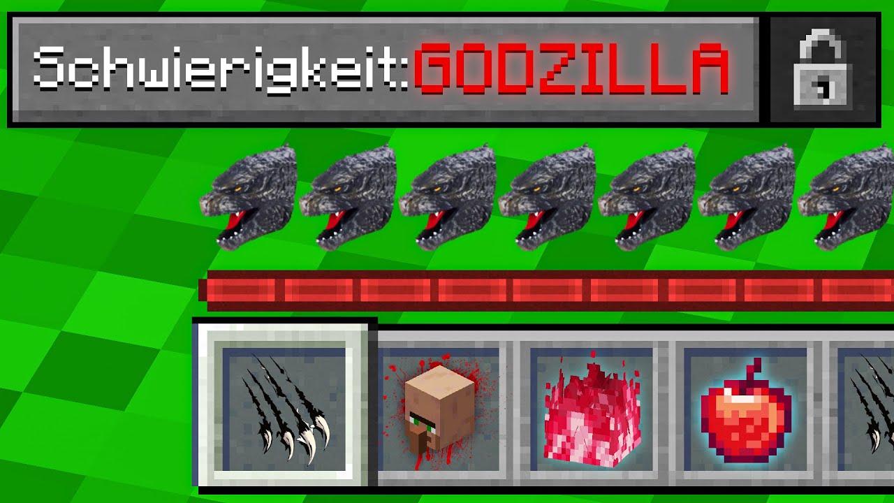 Download Alphastein VS. GODZILLA MODUS in Minecraft !