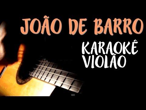 Joao de Barro - Maria Gadú (Leandro Léo)- Karaokê com Violão - Playback acústico