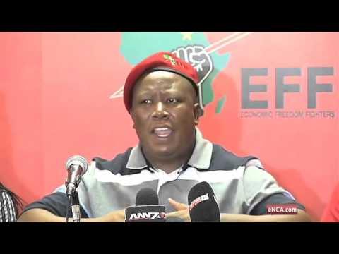 WATCH: Full Julius Malema press conference