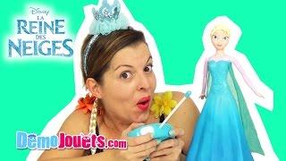 (JOUET) Reine Des Neiges Disney Frozen Elsa Patine et Chante IMC Toys - Démo Jouets