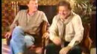 Adam West and Burt Ward 1987 Batman Interview