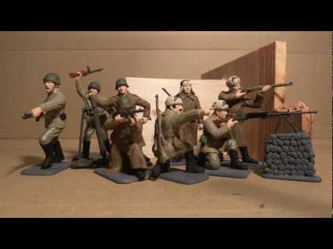 Italeri Ww2 Russian Infantry Winter Uniform Youtube