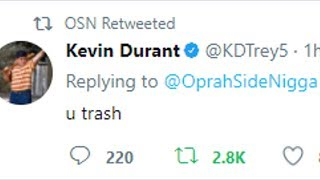 OSN ARGUES SETS UP 2K MATCH WITH KEVIN DURANT NARRATED