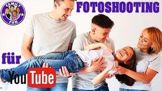 PROFI FOTOSHOOTING für Youtube und Co - neue Bilder müssen  her | Family Fun