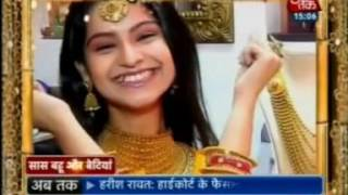 Akshaya Tritiya Special feature with Anmol Jewellers on Aaj Tak - Saas Bahu Betiyaan 09 May 2016
