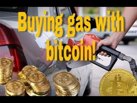 Buying Gas With Bitcoin!