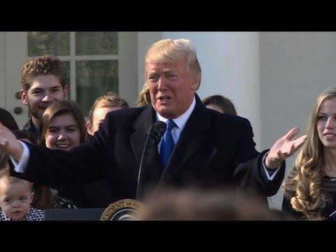 US government shutdown begins on Trump inauguration anniversary