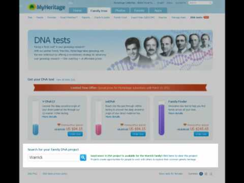 MyHeritage DNA tests for genealogy - YouTube