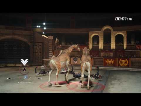 Altissia Colosseum Battles 3
