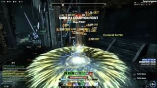 Elder Scrolls Online PVP Stam Sorc BOW DOWN EP WIPE
