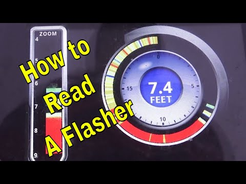 How To Use A Flasher, How To Read A Flasher For Ice Fishing!!