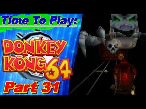 Time To Play DK64 Part 31: Roller Ghoster