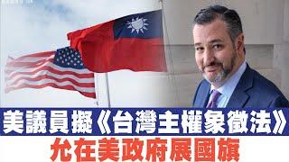 美議員擬提《台灣主權象徵法》允在美亮國旗|香港區選震懾中共!傳撤換中聯辦主任|晚間8點新聞【2019年11月26日】|新唐人亞太電視
