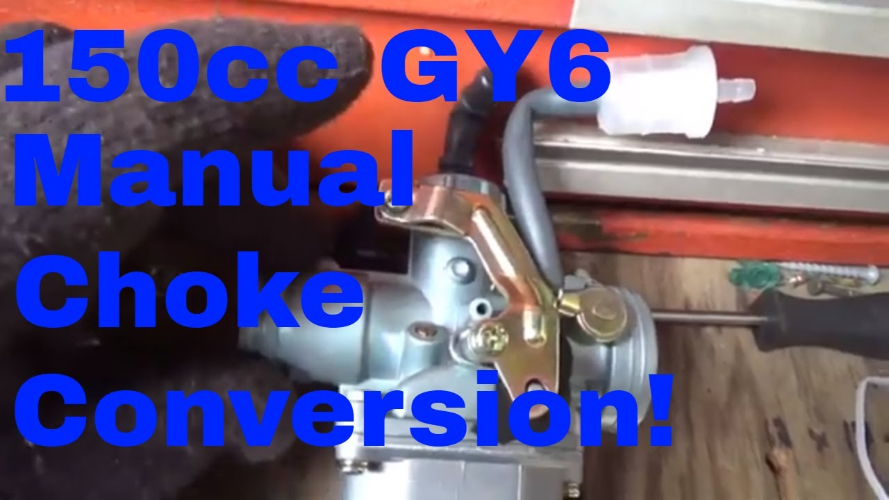 Hammerhead, 150cc GY6 Electric choke issues, Easy $20 Conversion to Manual  choke!