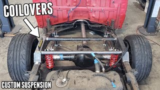 homepage tile video photo for Mounting COILOVERS On the Drift Truck's CUSTOM Rear Suspension