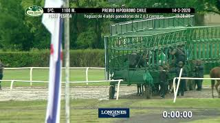 Vidéo de la course PMU PREMIO HIPODROMO DE CHILE