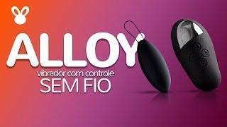 Alloy - Vibrador Com Controle Remoto Sem Fio