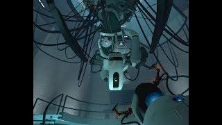 Portal ending with Portal 2 GLaDOS mod